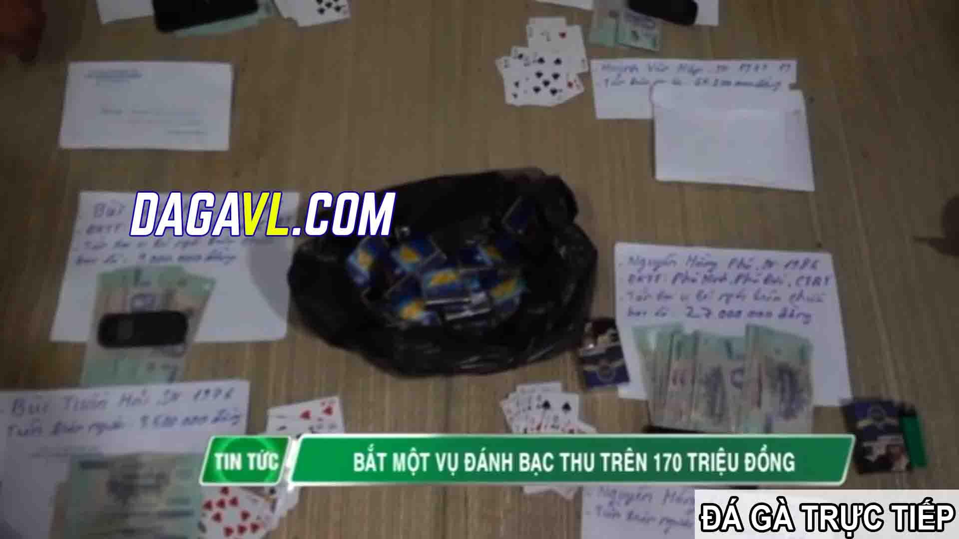 DAGAVL.COM - đá gà trực tiếp - Tang vật tham gia đánh bạc